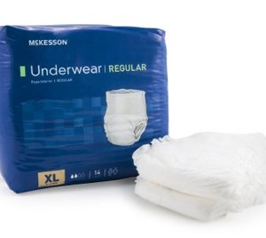 Adult Absorbent Underwear McKesson Regular Pull On X-Large Disposable Moderate Absorbency