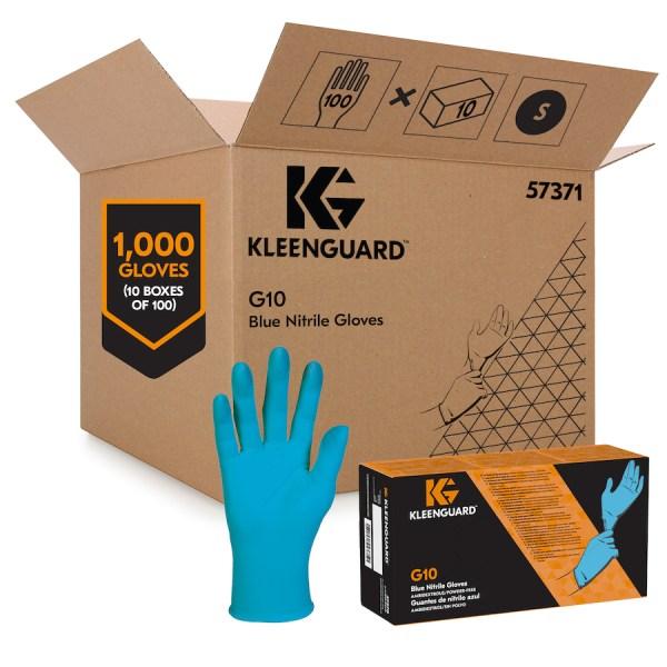 Blue gloves main