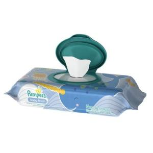 Pampers Baby Wipes Baby Fresh Pouch - 64ct/8pk