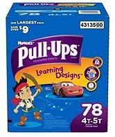 Huggies PULL UPS Boys 4T-5T - 78ct/1pk