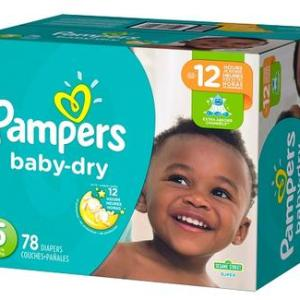 Pampers Baby Dry SUPERPACK size 5 - 78ct/1pk