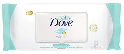Dove Baby Wipes Sensitive Moisture - 50ct/12pk