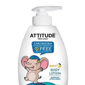 Attitude Little Ones Body Lotion Night - Almond Milk - 10oz/6pk