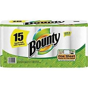 Bounty Regular Paper Towels - 15pk