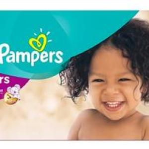 Pampers Cruiser Econ+T/BAE Size 6 - 104ct/1pk