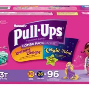 Huggies PULL UPS Girls 2T-3T - 96ct/1pk