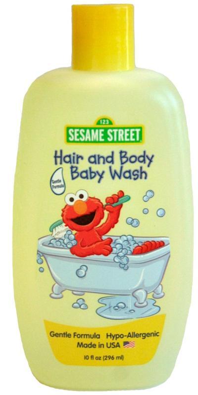 Baby Body Wash Sesame Street - 10oz/12pk