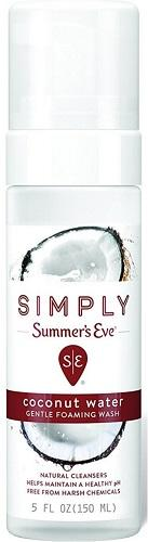 Summer's Eve Foaming Wash Coconut Water - 5oz/12pk