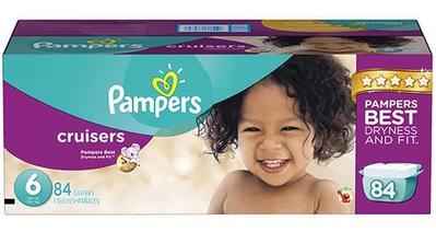 Pampers Cruiser Econ Size 6 - 84ct/1pk