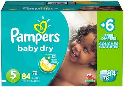 Pampers Baby Dry SUPERPACK BONUS size 5 - 84ct/1pk
