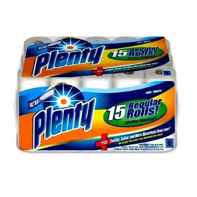 Plenty Paper Towels Bundles 2ply - 15bd