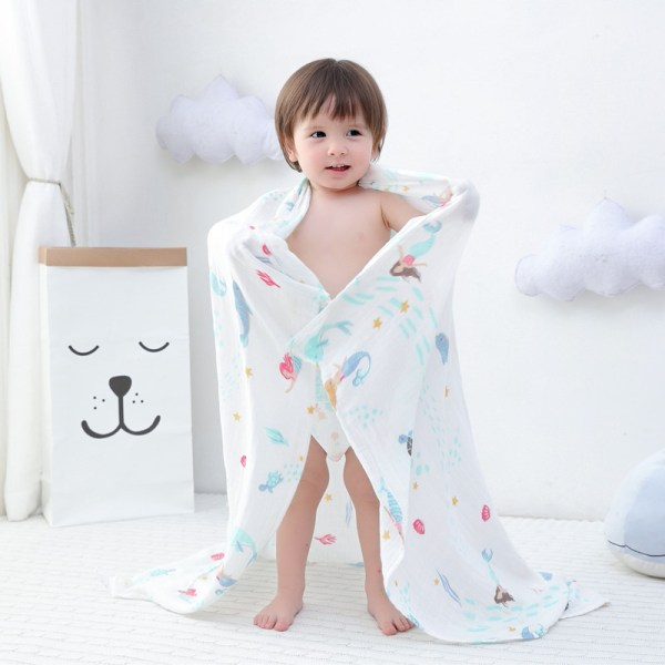A 70 bamboo baby swaddle baby muslin blanket quality better than Aden Anais Baby Multi use 1