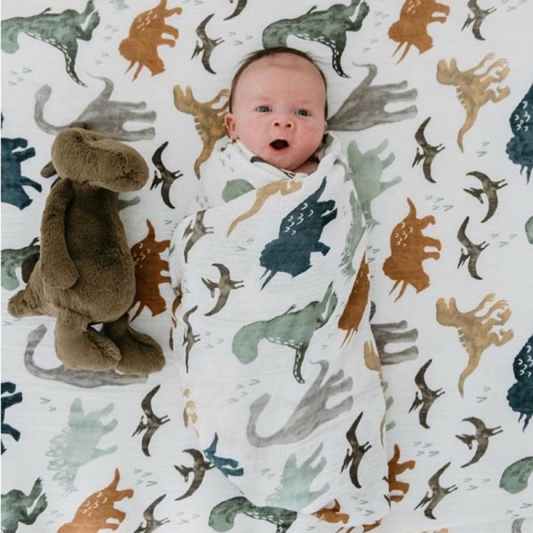 A 70 bamboo baby swaddle baby muslin blanket quality better than Aden Anais Baby Multi use