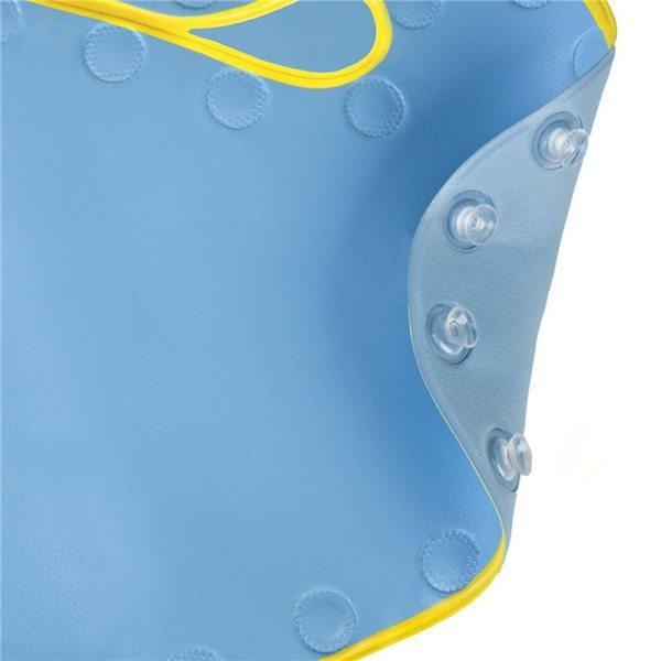 Baby Cartoon PVC Play Mat with Suction Cups Toilet Floor Rug Bathtub Carpet 40 70cm 1