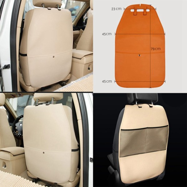 Car Seat Cover Back Protectors Protection For Children Protect Auto Seats Covers for Baby Dogs from 5