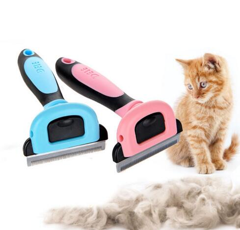 Combs Dog Hair Remover Cat Brush Grooming Tools Detachable Clipper Attachment Pet Trimmer Combs for Cat