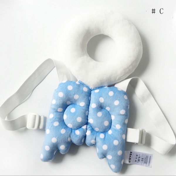 Brand New Cute Baby Infant Toddler Newborn Head Back Protector Safety Pad Harness Headgear Cartoon Baby 2