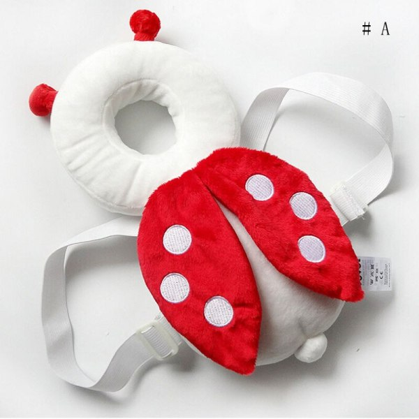 Brand New Cute Baby Infant Toddler Newborn Head Back Protector Safety Pad Harness Headgear Cartoon Baby 4