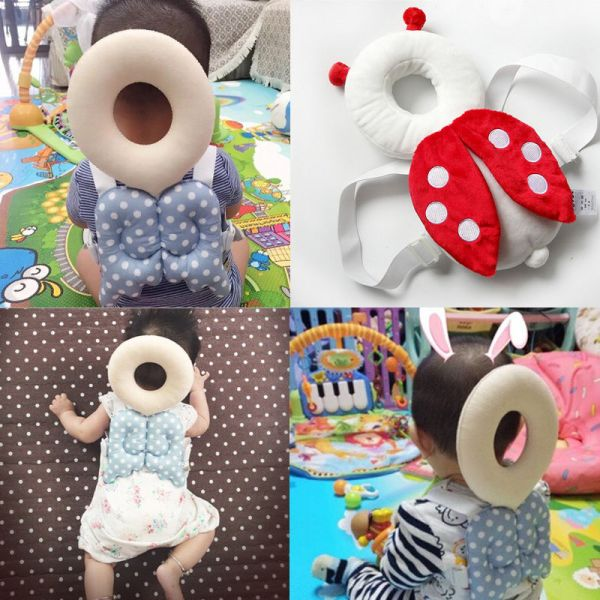 Brand New Cute Baby Infant Toddler Newborn Head Back Protector Safety Pad Harness Headgear Cartoon Baby