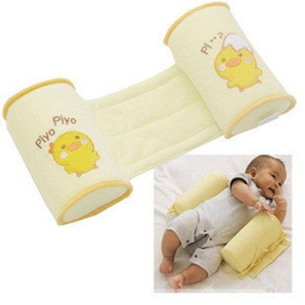 New neonatal corrects head type anti rollover yellow color chicken pattern anti deviation protective stereotyped Baby
