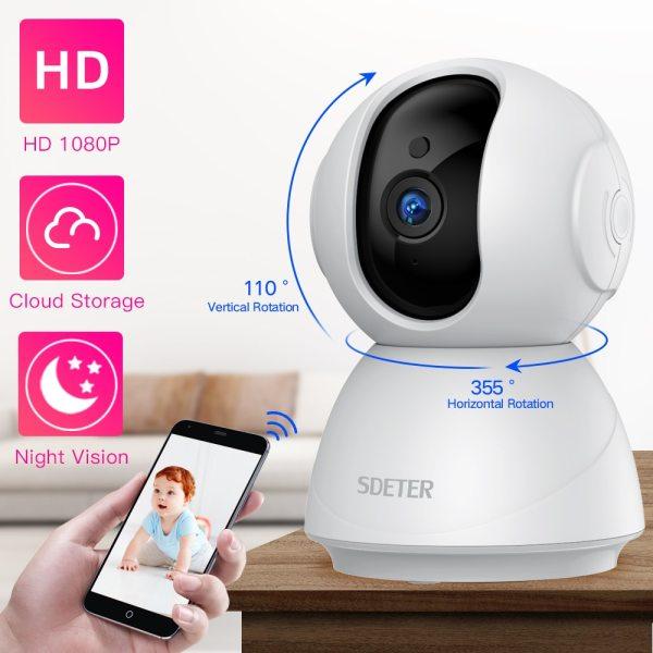 SDETER 1080P 720P IP Camera Security Camera WiFi Wireless CCTV Camera Surveillance IR Night Vision P2P
