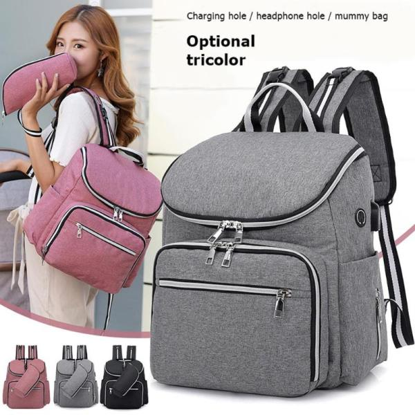 2020 Baby Diaper Bag Backpack Waterproof Mummy Maternity Large Capacity Bags Mummy Maternity Travel Backpack Nursing