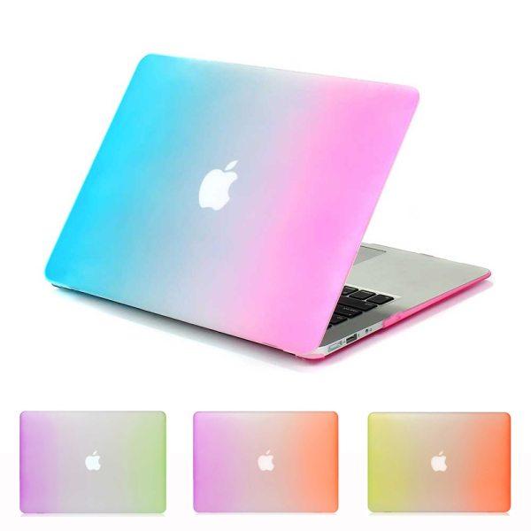 Rainbow Laptop Case For Apple MacBook Air Pro Retina 11 12 13 15 mac Book 15