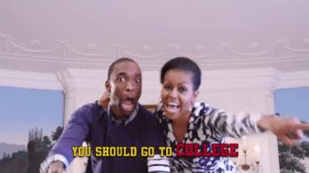 Michelle Obama fait trembler le rap game!
