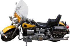 Harley Davidson apparue dans Rocky 3 : $150,000