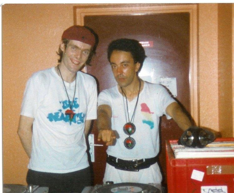 En compagnie de Lionel D (à droite)