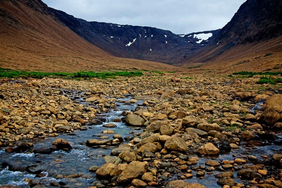 The Tablelands in Gros Morne National Park.