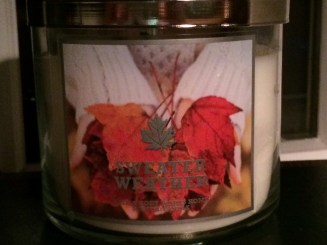 Sweater weather scent....a new favorite for me!