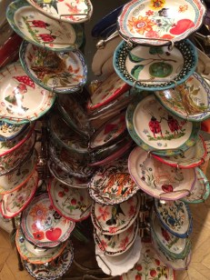 Look at all these plates! So many ways to mix and match them.