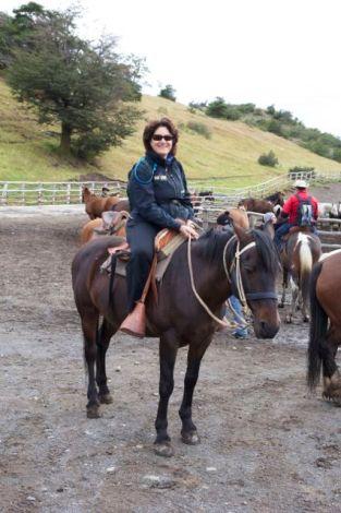 Susanne saddles up