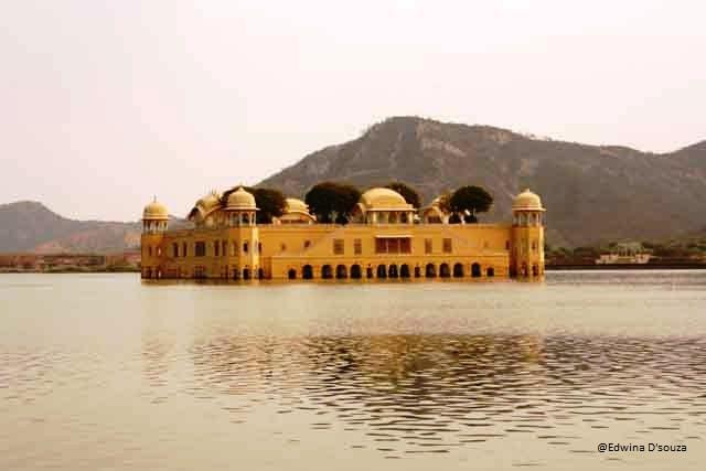 Jal Mahal, Jaipur (Photo Credits: Noella D'souza) - rajasthan itinerary