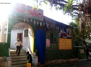 dargah near sewri fort - Forts in Mumbai