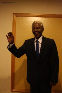 Nelson Mandela - celebrity wax museum