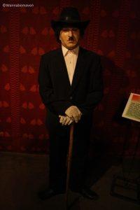 Charlie Chaplin - celebrity wax museum
