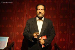 Saddam Hussein - celebrity wax museum