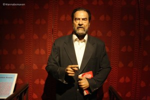 Saddam Hussein - celebrity wax museum