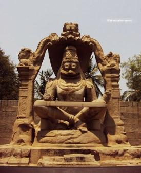 21 ft Lord Narsimha - Hampi
