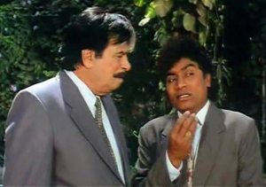 Johny Lever & Kader Khan in Dulhe Raja - bollywood sidekicks