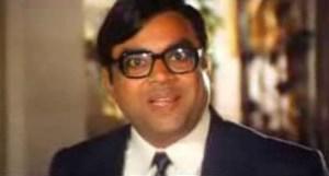 Paresh Pawal as Pratap in Mr. & Mrs. Khiladi - bollywood sidekicks