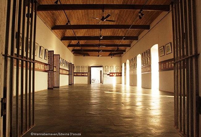 inside Reis Magos fort
