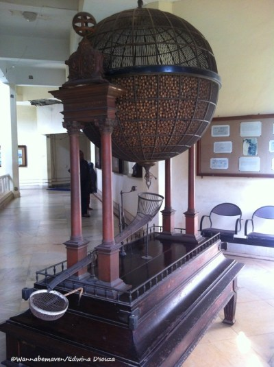 Lottery Draw Maching at Goa State Museum