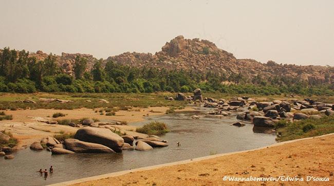 Tungabhadra and Hampi Landscape - Hampi unesco world heritage site