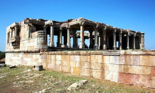 Road trips from Mumbai - Kabootar-Khana-in-Champaner-Pavagad-Archaelogical-park