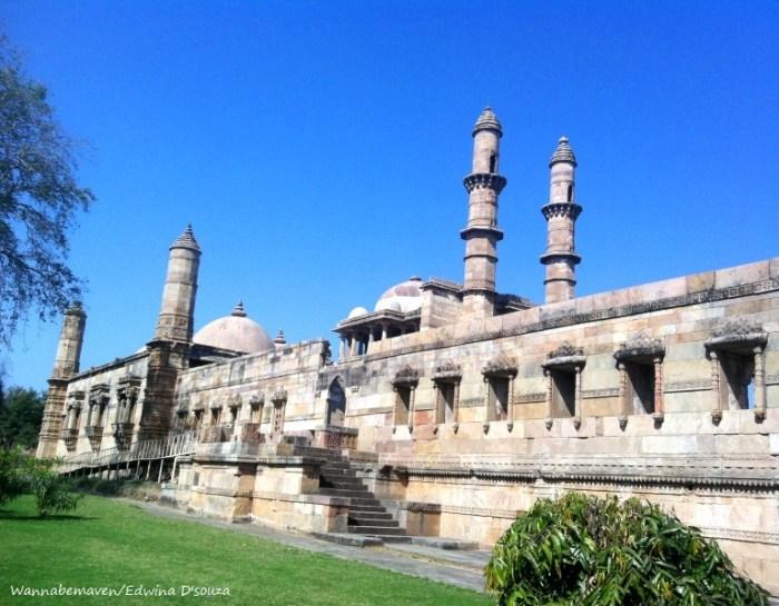 Jami Masjid - champaner-pavagadh archaeological park