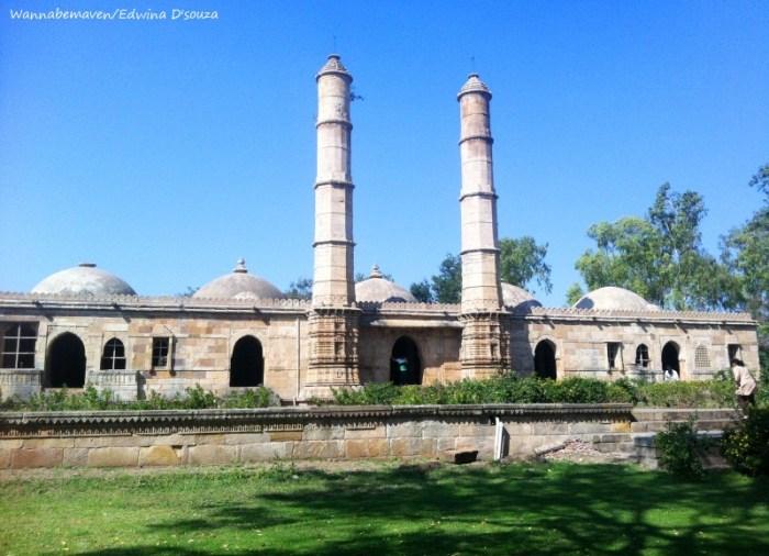 Saher ki masjid - champaner-pavagadh archaeological park