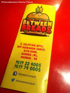 between breads bandra review